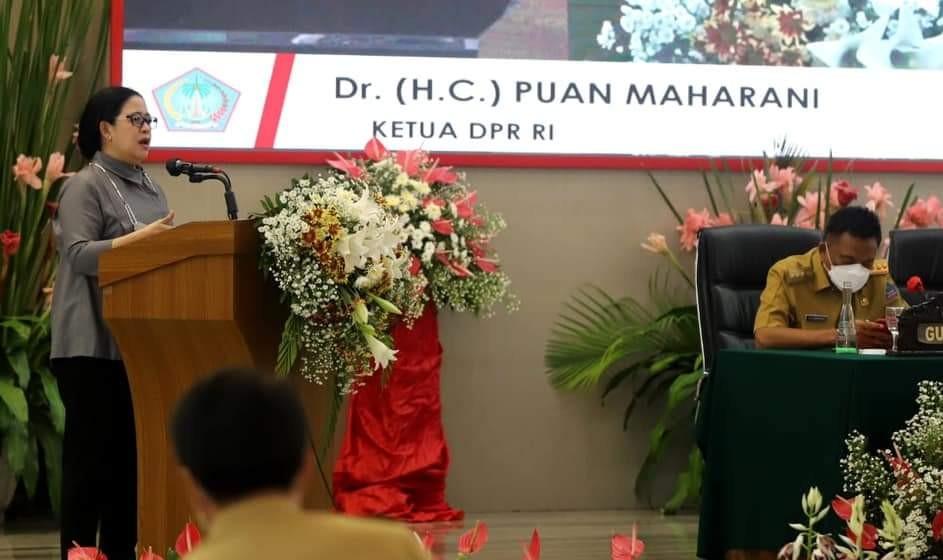 Kunjungi Sulut, Puan Ingatkan Forkopimda Untuk Jaga Ketenteraman dan Pulihkan Ekonomi Warga