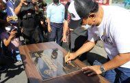 Bupati Jabes Ezar Gaghana Hadiri dan Resmikan Taman Laut BSG