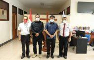 Sosialisasikan Vaksin Hebat, AA-RS Minta Dukungan Sinode GMIM