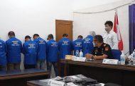 Waduh!!! Terkait Pemakaian Gorila, BNNP Sulut Bekuk 9 Karyawan PT PP Persero, Ini Perkembangan Kasusnya