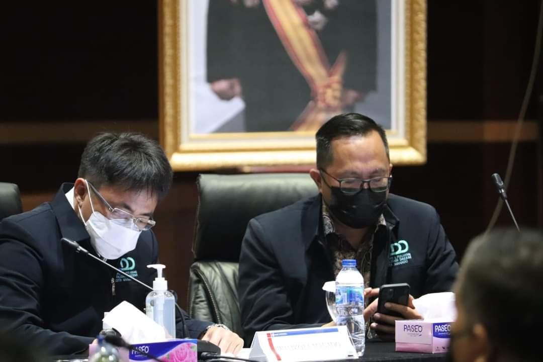 Hadiri Rapat High Level Meeting TPID dan Pengukuhan TP2DD Kota Manado, Wali Kota Tegaskan ini