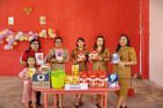 Balita, Ibu Hamil dan Lansia di Desa Kartal Terima PMT