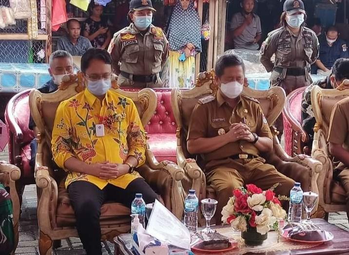 Wabup Minsel Dampingi Wamendag RI Resmikan Pasar Rakyat Tumpaan