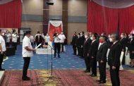 Wawali Richard Sualang Melantik Pengurus BKSAUA, FKUB, FPK Dan FKDM Kota Manado