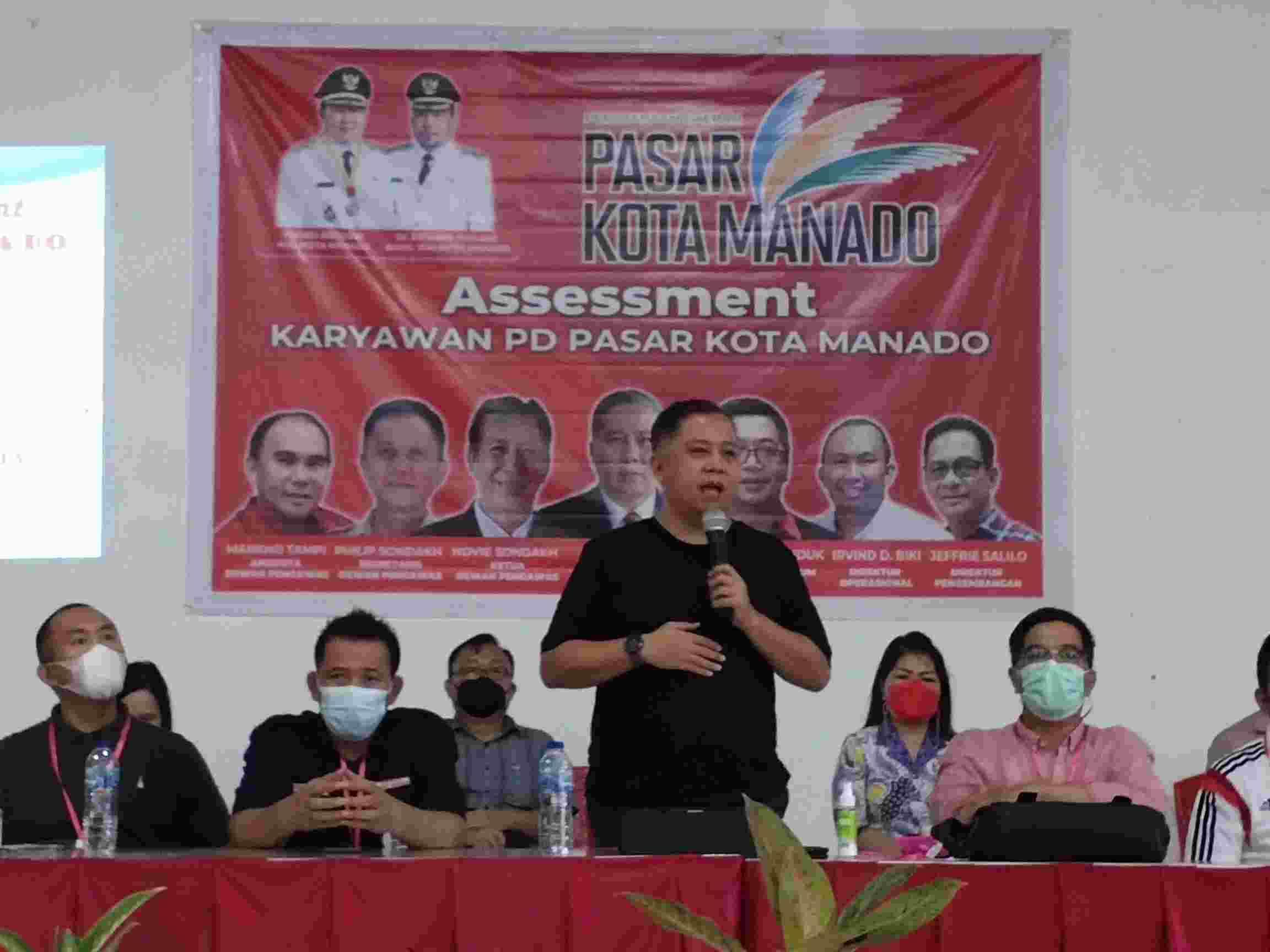 PD Pasar Gelar Assessment Perekrutan Karyawan, Roland Roeroe Pastikan Proses Ini Mengedepankan Asas Profesionalitas