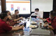 Bahas Masalah Kebersihan Pasar, Roeroe Temui Wali Kota dan Wakil Wali Kota Manado