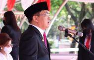 Pimpin Upacara HUT Kota Manado, Angouw Gaungkan Semangat Sitou Timou Tumou Tou