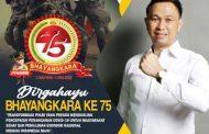 Harapan Herol Kaawoan Dalam Rangka Memperingati Hut Bhayangkara Ke-75
