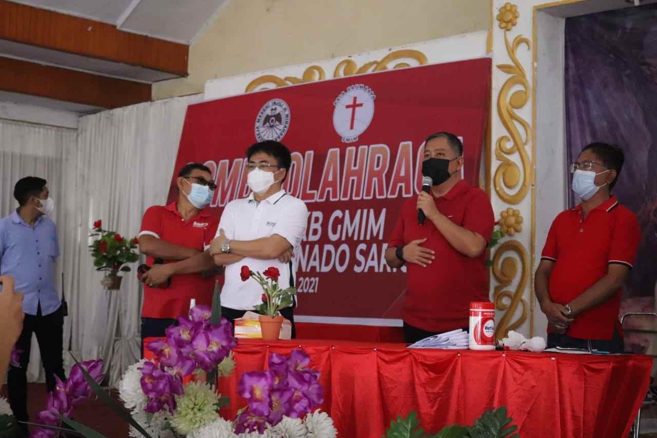 Wali Kota Andrei Angouw Buka Kegiatan Lomba Olahraga PKB GMIM