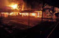 Kebakaran di SMP N 1 Motoling Kerugian Diperkirakan Milyaran Rupiah