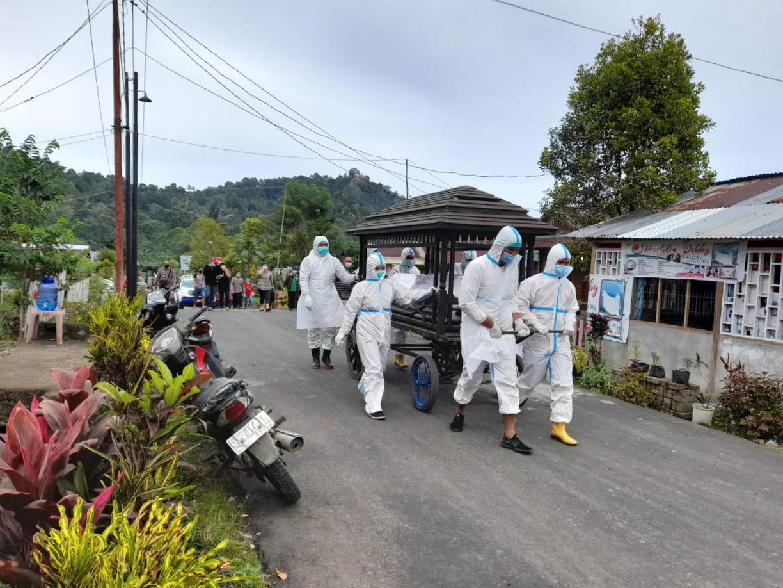 KERT Dengan Pasien Covid-19, 20 Warga Desa Raanan Baru Siap Isoman