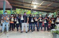 Terinspirasi Bupati JG, MBC Berkolaborasi dengan GMBI KSM Kauditan Bantu Warga Isoman