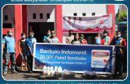 Indomaret Berikan Bantuan Kepada Masyarakat Terdampak Covid-19 di Sulut