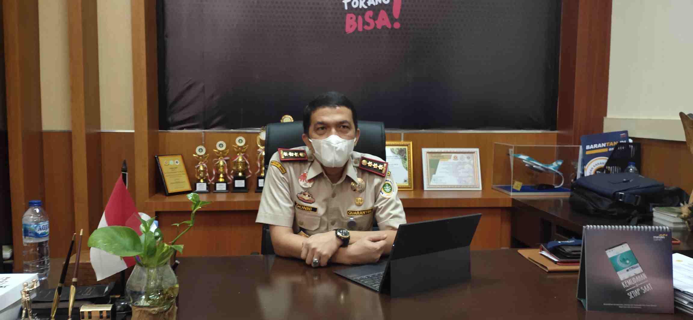 Kepala Brantan Manado Berharap Alocasia Jacklin, Tanaman Hias Asal Sulut Miliki Nama Ilmiah