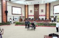 Pertanggungjawaban Pelaksanaan APBD Sulut TA 2020, Ditetapkan Menjadi PERDA Provinsi Sulut