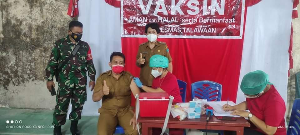 328 Warga Paniki Atas Resmi di Vaksin