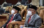 Rapat Paripurna, AA-RS Bersama DPRD Manado Dengarkan Pidato Presiden