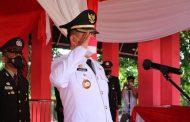 Perdana, Bupati Joune Ganda Jadi Irup HUT Kemerdekaan ke-76