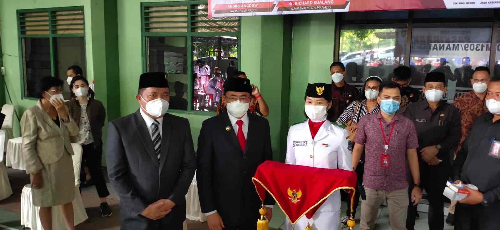 Pesan dan Harapan AA-RS Saat Pengukuhan Paskibraka Kota Manado