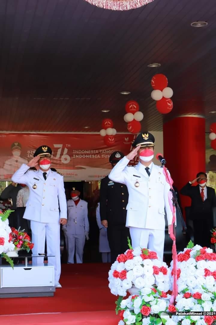 Rangkaian Kegiatan Peringatan HUT Ke-76 Kemerdekaan RI Sukses Dilaksanakan di Minsel