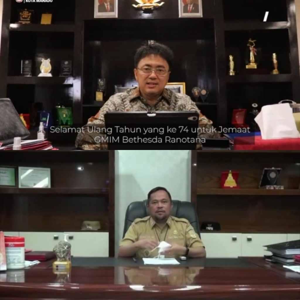 AA-RS Sampaikan Pesan Harapan di HUT Ke-74 Jemaat GMIM Bethesda Ranotana