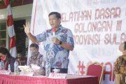 Latsar CPNS Pemprov Sulut Dibuka, Wagub Kandouw: PNS Harus Akuntabel, Jujur dan Dipercaya