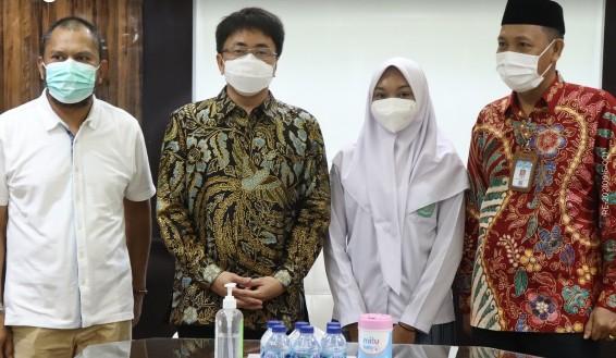 Wakili Sulut ke AS, Anindita Temui Wali Kota Manado