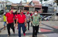 Wali Kota Manado Tinjau Vaksinasi di Taman Kesatuan Bangsa