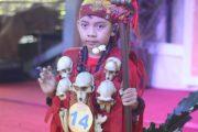 Rafael Gesimaking Tampil Sebagai Peserta Termuda Lomba Tutur Cerita Rakyat Tingkat SD