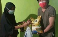 Jerry Sambuaga Berikan Bantuan Kepada Masyarakat Bolmong di Tengah Pandemi Covid-19