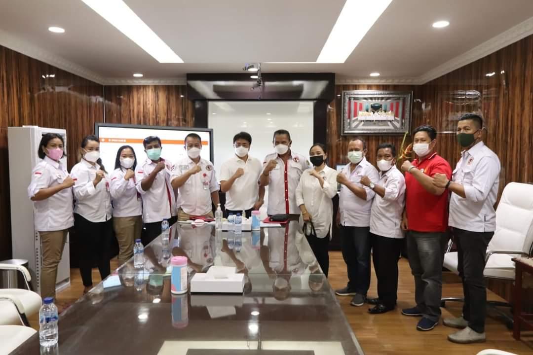Temui Wali Kota, DPW GPMN Sulut dan DPD GPMN Dukung Program Pemkot Manado