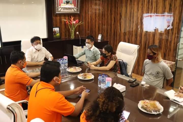 Wali Kota Manado Bertemu PT Pos Bahas Sistem Pembayaran dan   Pelaporan PBB Digital