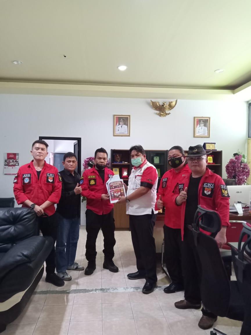 Resmi Mendaftar di Kesbangpol Sulut, PWI Siap Bersinergi dengan Pemerintah