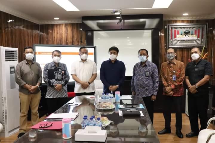 Jalin Silaturahmi, Kepala BPKP Sulut Temui Wali Kota dan Wakil Wali Kota Manado