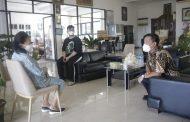 Temui Pdt Yvone Awuy-Lantu, Wagub Steven Ucapkan Selamat HUT ke-75