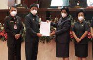 Gelar Rapat Paripurna, DPRD dan Pemkot Manado Tetapkan APBD-P 2021