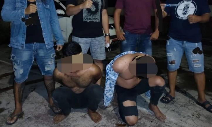 Usro Buronan Kasus Penganiayaan Diamankan Resmob Polres Minsel