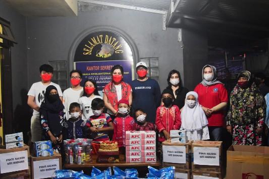 Tak Ada Kesan Mewah, Irene Pinontoaan Rayakan HUT ke-47 di Panti Asuhan