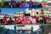 Sambut HUT ke-88, KGPM Lakukan Bersih-bersih di Kota Manado