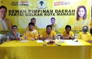 Gelar Rapat Pleno, Beringin Manado Perkuat Pondasi Menuju Pemilu 2024