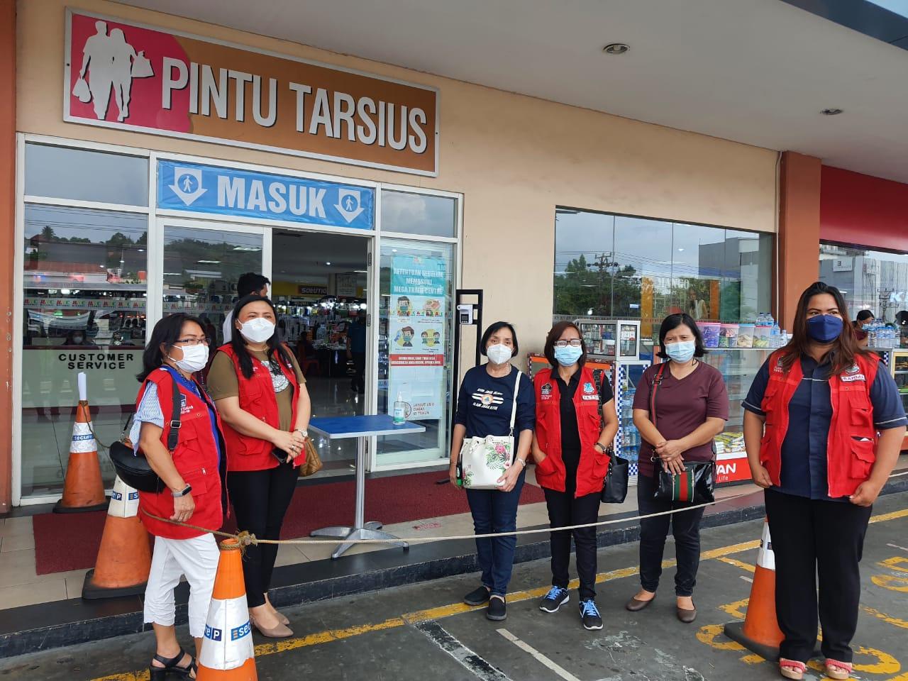 Tim Satgas Covid-19 Pemkot Manado Monitoring Pelaksanaan Aplikasi PeduliLindungi
