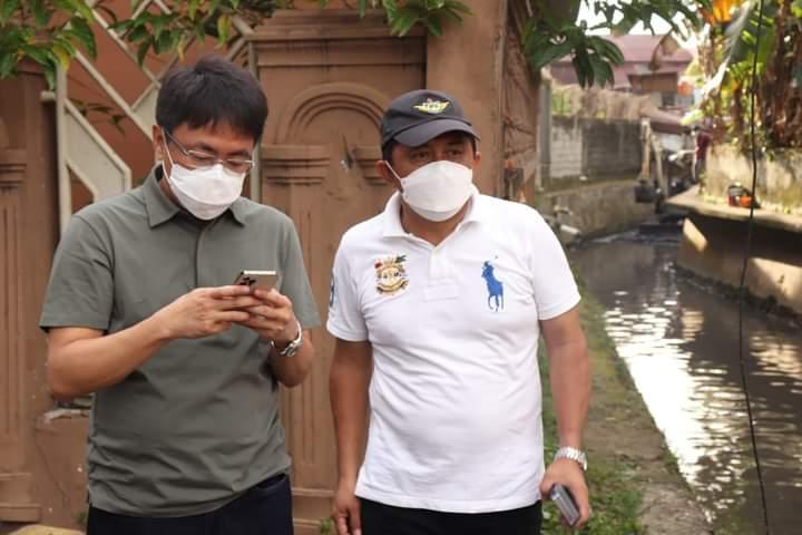 Tangani Masalah Banjir, Wali Kota Kunjungi Normalisasi Anak Sungai Tuminting
