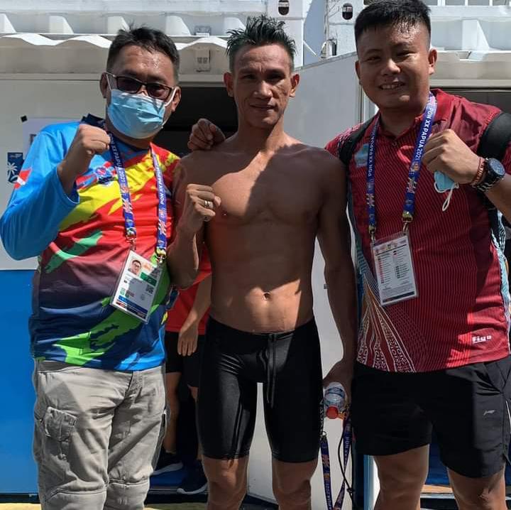 Atlet Finswimming Sulut Micky Wowor Raih Medali Perak di PON XX Papua