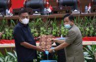 DPRD Sulut Gelar Rapat Paripurna Penandatanganan Nota Kesepakatan KUA dan PPAS APBD TA 2022