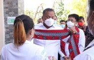 Walikota Andrei Dampingi Gubernur Olly Hadiri Acara Sekolah Lapang Cuaca Nelayan Sulut